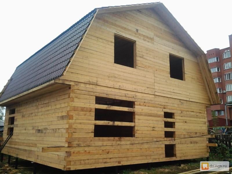 Строительство дома из бруса от и до