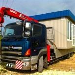 Перевозим негабарит гаражи, вагончики, киоски, павильоны, контейнера, Иркутск