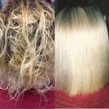 Ботокс для волос~Нанопластика для волос~Кератиновое выпрямление, Иркутск