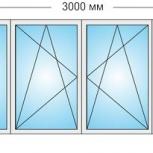 Лоджии Пластиковые Трехстворчатые профиль алюмин 70мм стеклопакет 32мм, Иркутск