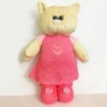 Мягкая игрушка кошка в платье, Иркутск