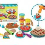 Ягодные тарталетки набор для лепки Play-Doh от Hasbro, Иркутск