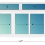 Лоджии ПВХ Двустворчатые профиль 58мм стеклопакет 24мм, Иркутск
