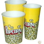 Бумажный стакан для попкорна 2л., Иркутск
