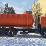 Вакуумная ассенизаторская бочка 15 кубов., Иркутск