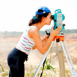 Видео-курс по геодезии. Работа с тахеометром., Иркутск