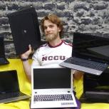 Ремонт компьютеров и ноутбуков Установка Windows антивирус офис, Иркутск