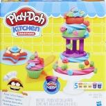 Делаем Торт. Набор Для Лепки Play-Doh, Иркутск