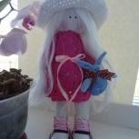 Текстильная интерьерная кукла, Иркутск