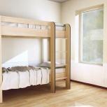 Кровать двухъярусная кр-2х2 дуб, Иркутск