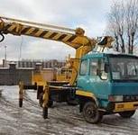 Услуги ямобура, Иркутск